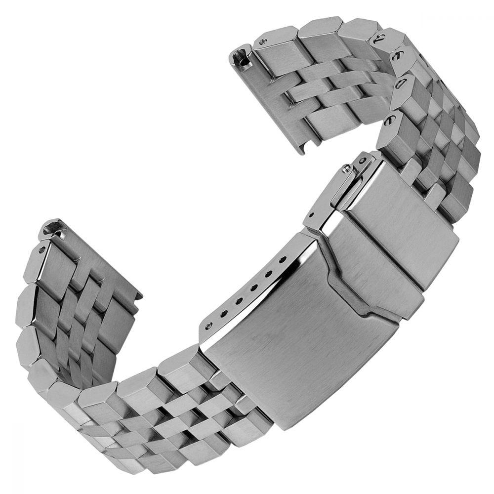 Watchgecko 22mm Solid Stainless Steel watch bracelet - £16.20