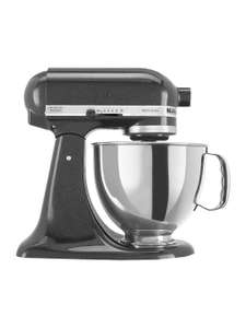 KitchenAid 150 Artisan 4.8L Stand Mixer, Black Caviar £199 when you trade in your mixer or use code KITCHENAID100 @ John Lewis & Partners