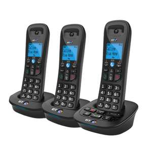 BT 3950 Trio With Answer Machine & Nuisance Call Blocker £22.50 at Haverfordwest Tesco