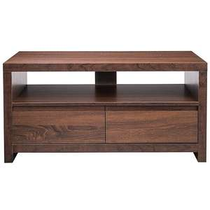 Leighton dark oak TV unit - £18.75 at George. Back in stock!