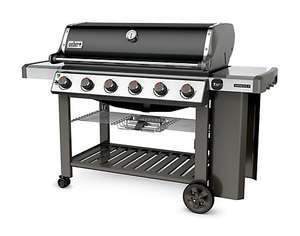Weber Genesis II E610 6 Burner Black Gas Barbecue £1000 instore only at B&Q Kidderminster