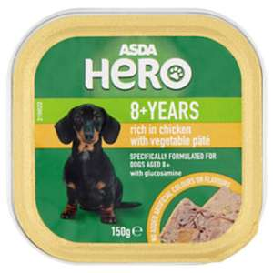 Asda Hero dog food 8+ years - 18p instore