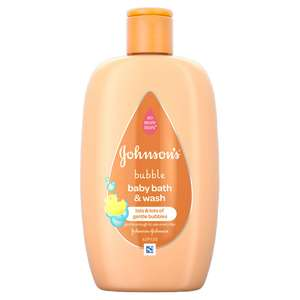 Johnson's 2 in 1 Baby Bath and Wash - 63p instore @ Superdrug