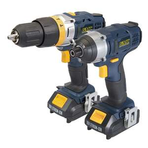 GMC 18V Combi Drill & Impact Driver Twin Pack GTPCDID18 - £79.99 / £86.48 delivered @ Yandles