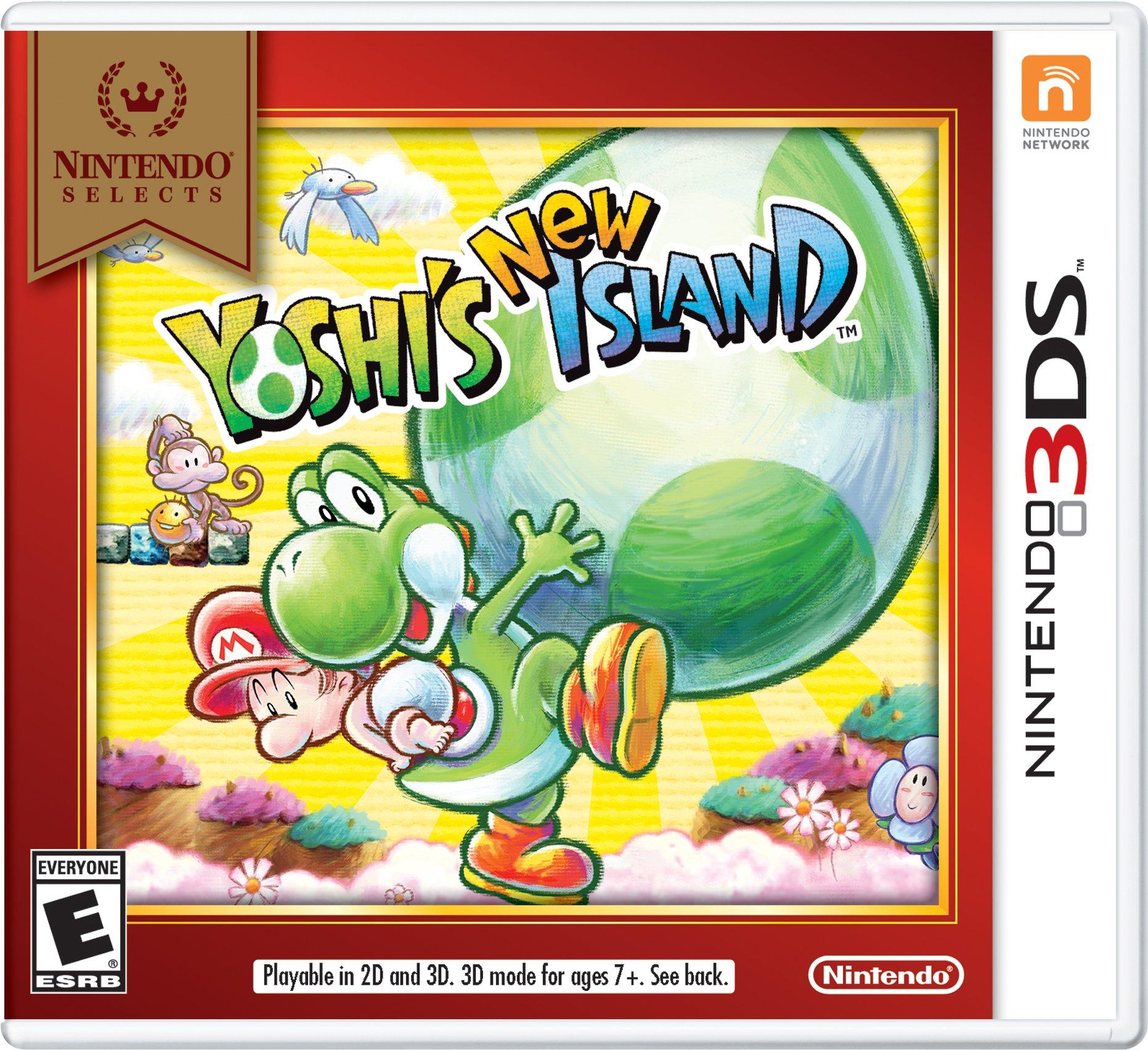 Yoshi's New Island Nintendo 3DS only £7.50 in store Asda Hamilton