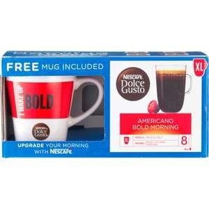 Nescafe Dolce Gusto Americano Gift Box 16 XL at JTF in store