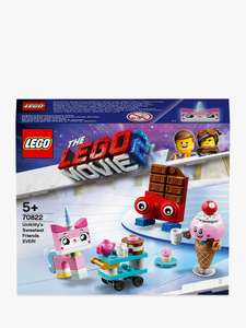LEGO THE LEGO MOVIE 2 Playtime 70822 Unikitty's Sweetest Friends EVER! now £5.99 at John Lewis