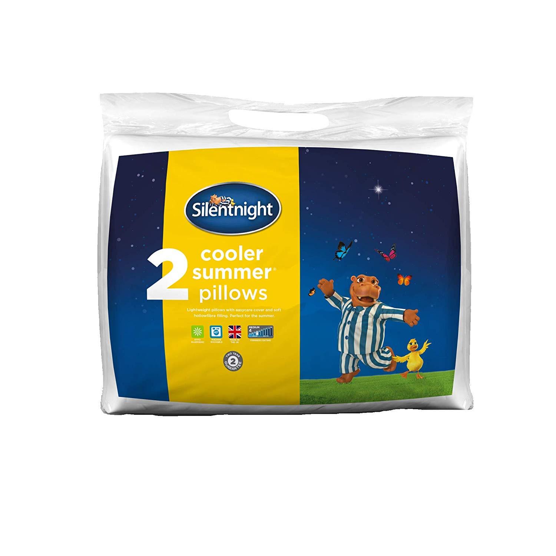 Silentnight Cooler Summer Pillow (Pack of 2) £9.99 Delivered @ Amazon Prime / £14.48 Non Prime