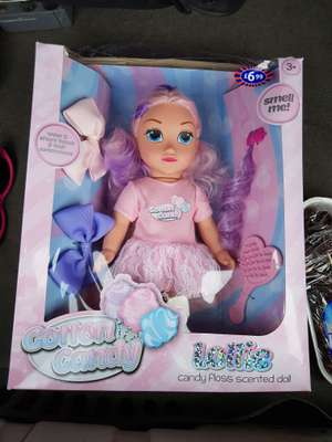 Candy floss doll - 10p at B&M instore