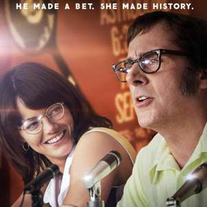 Battle of the Sexes (with Emma Stone & Steve Carell) FREE big screen movie night