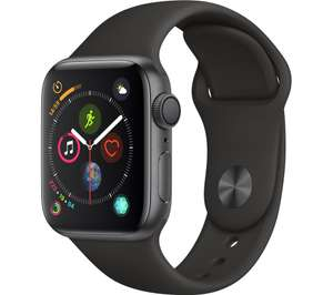 Apple Watch Series 4 (GPS, 40mm) - Space Grey Aluminium Case with Black Sport Band  £332.22 @ Amazon Italy