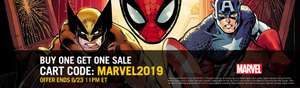 Marvel Comics buy one get one free sale @ Comixology