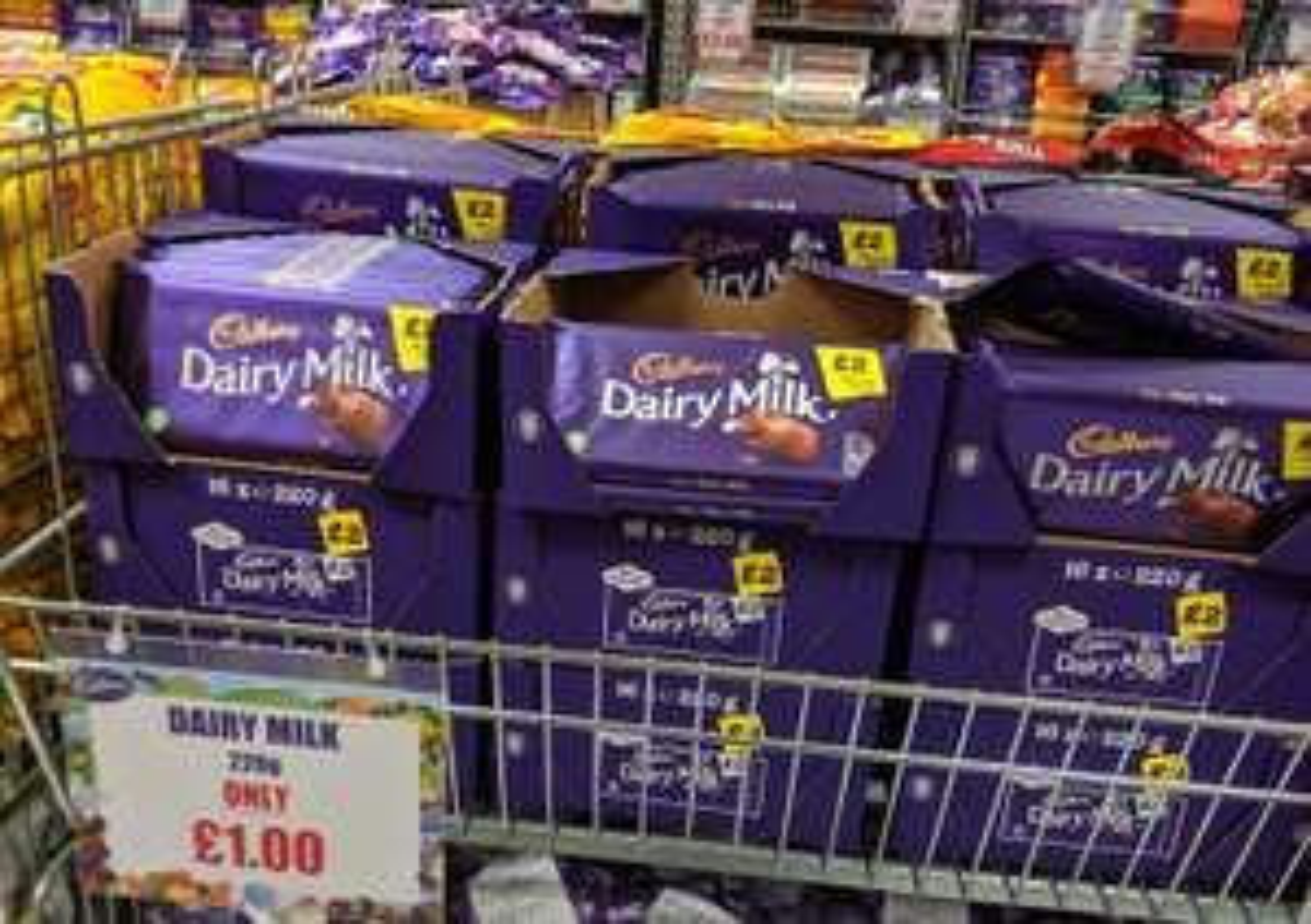 Cadbury Dairy Milk 220g - £1 @ Cadbury Shop Salford Lowry (BBE 05/07/2019)