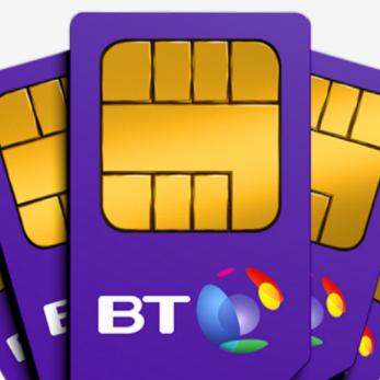 BT Mobile 50GB Extra Speed 4G Unl Mins + Texts £15