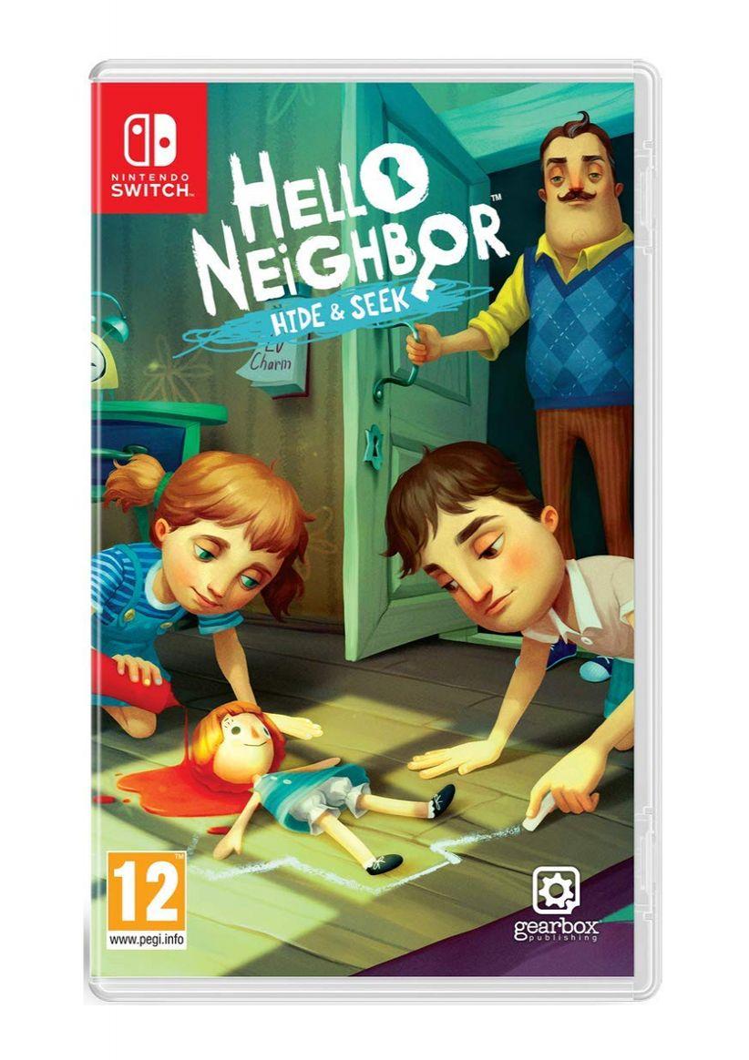 Hello Neighbor: Hide and Seek - Nintendo Switch - Simplygames.co.uk £19.99