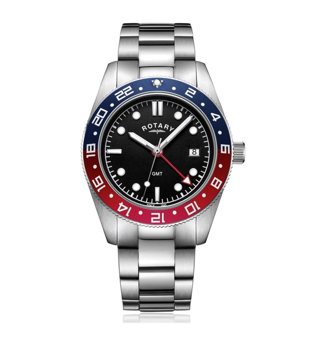Rotary GMT pepsi bezel diver style watch on stainless steel bracelet - £69.99 @ Argos (Free C&C)