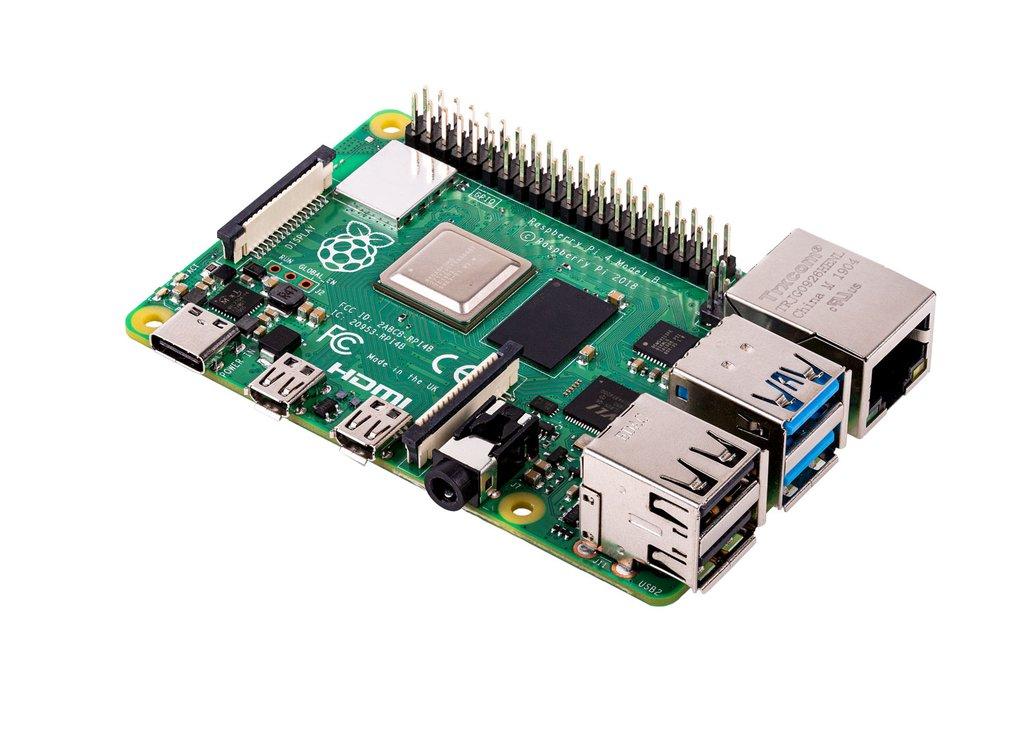 Raspberry Pi 4 B 1GB £34 + £2.99 p&p ThePiHut