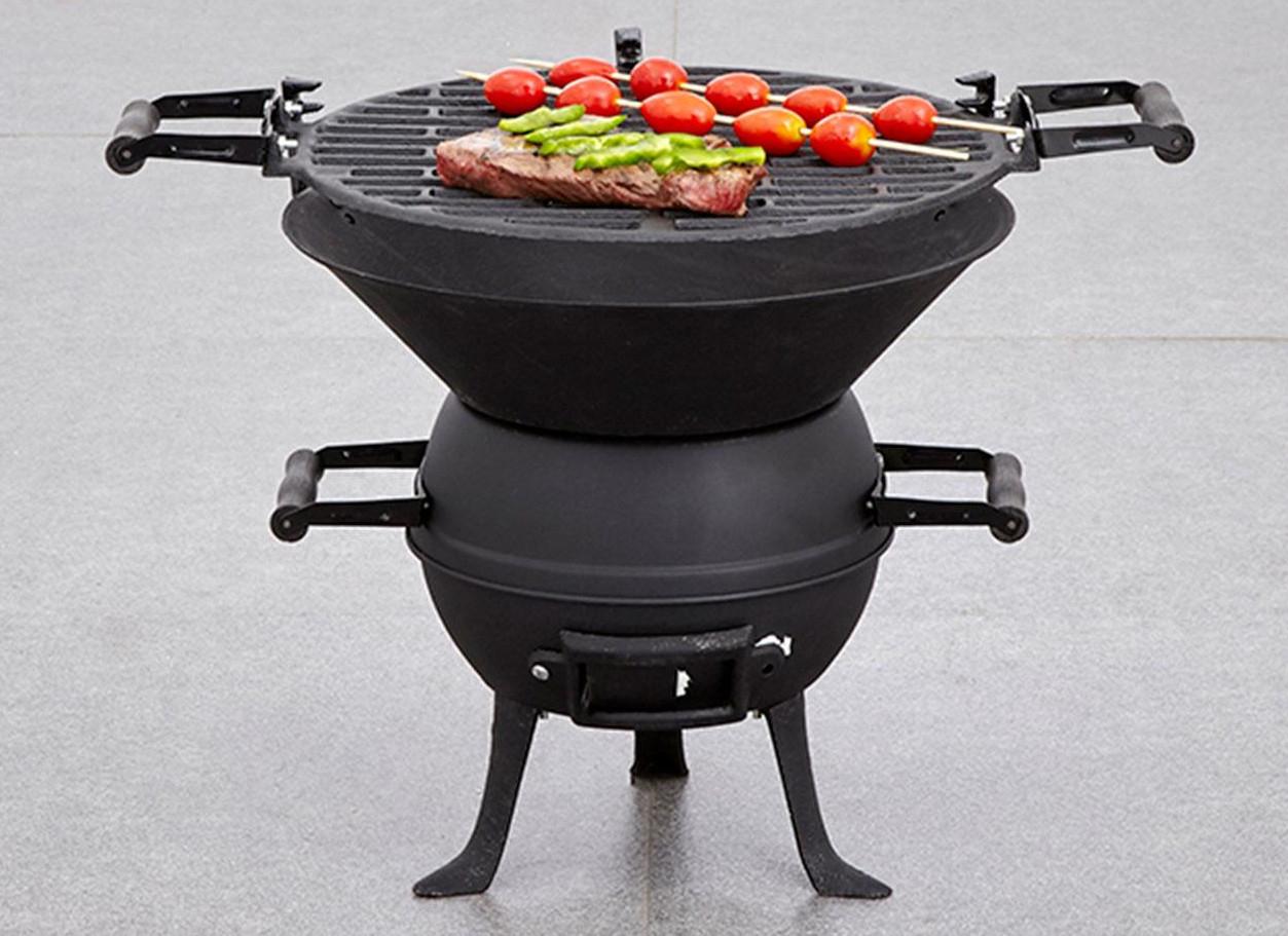 Steel Cast Iron Pot Belly BBQ - £12.50 @ Dunelm (Free c&c)