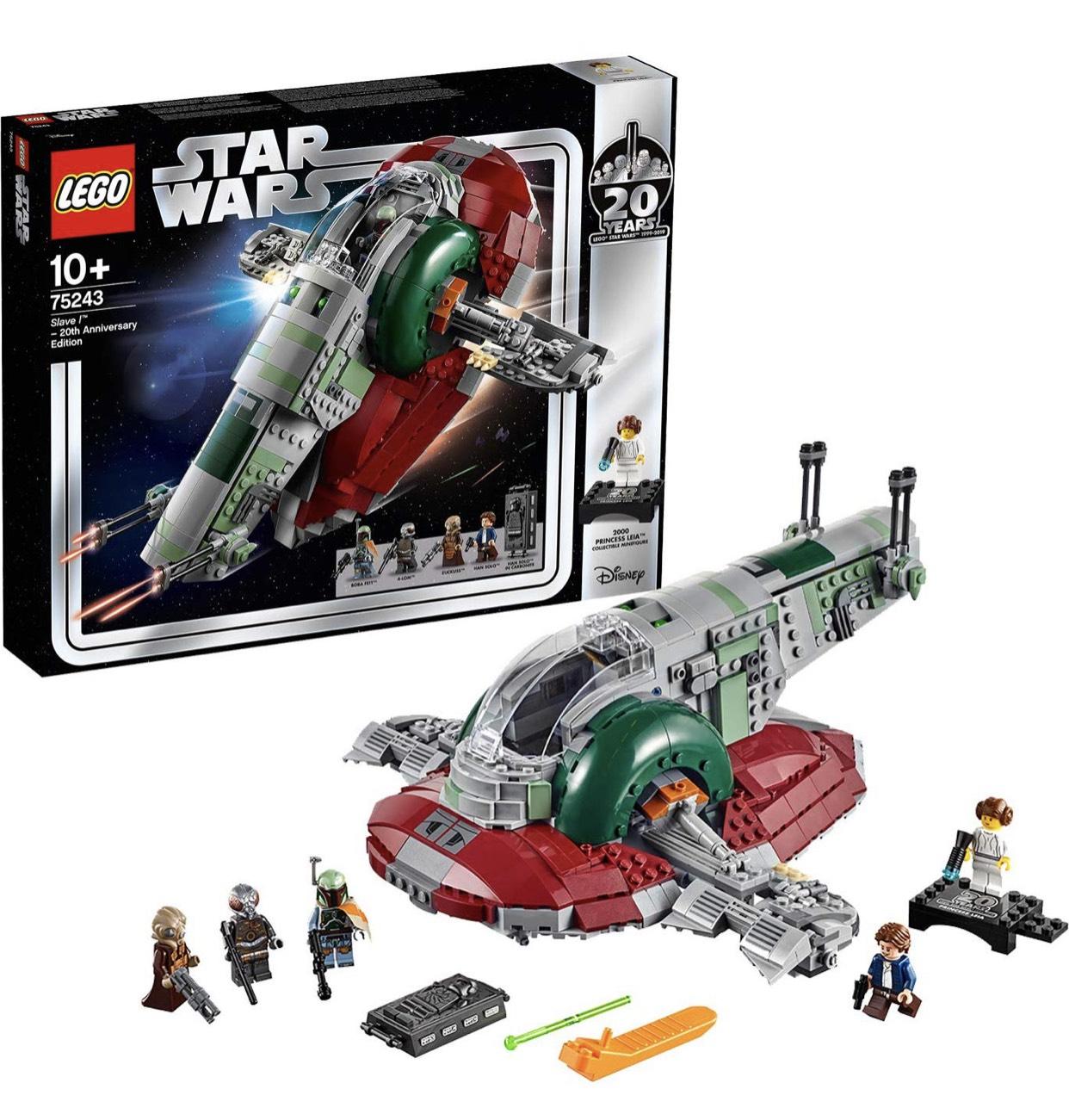 LEGO 75243 Star Wars Slave I - 20th Anniversary Edition £84.04 @ Amazon DE