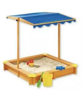 Playtive Junior  Childs sand pit with roof £19.99 @ Lidl (Saltash)