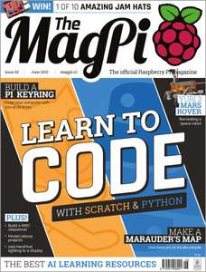 The Officlal Raspberry Pi Magazine is FREE to download