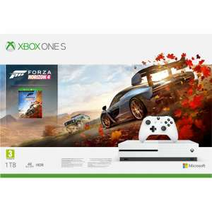Xbox One S 1TB with Digital Download Code for Forza Horizon 4 White - £159.20 @ AO Ebay