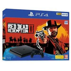 Sony PlayStation PS4 with Red Dead Redemption 2 500GB Black £199.20 @ AO Ebay