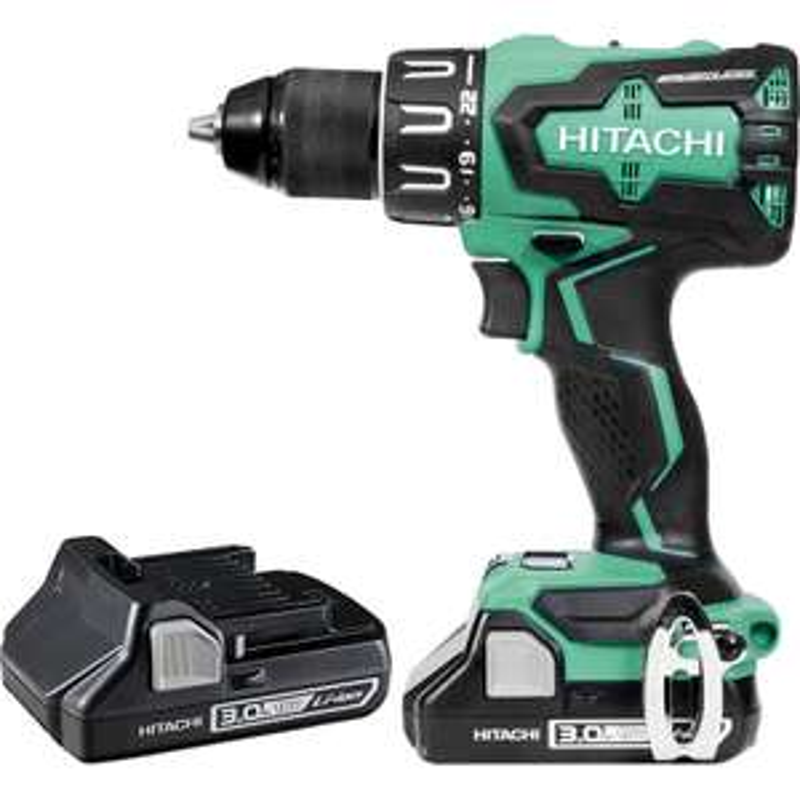Hitachi DV18DBFL2 18V Li-Ion Cordless Brushless Combi Drill 2 x 3Ah - £119.98