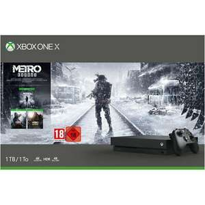 Xbox One X 1TB with Metro Exodus, Metro 2033 Redux, Last Light Redux £297.60 with code delivered @ AO eBay