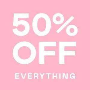 Nasty Gal 50% off everything
