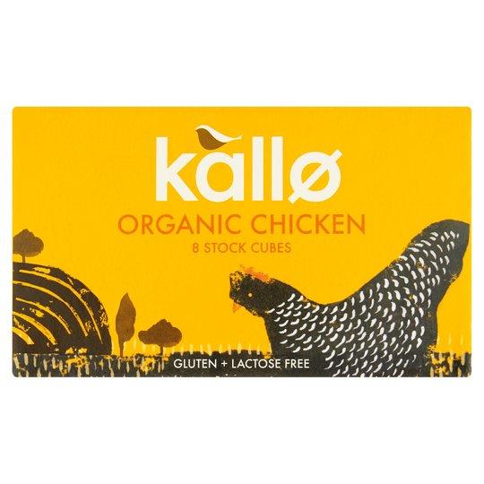 Kallo Organic Stock Cubes x6 (Beef & Chicken) - 5p @ Poundstretcher