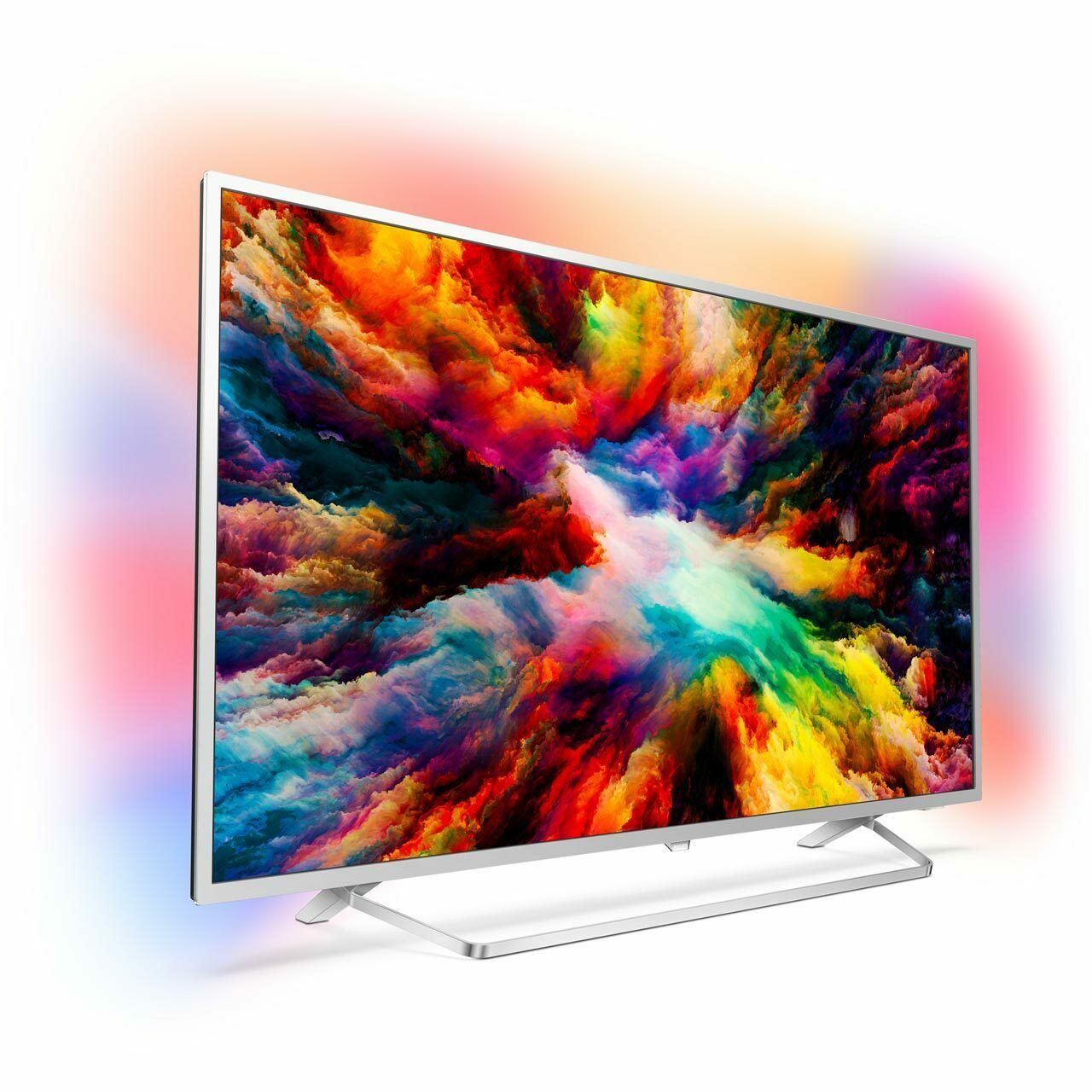Philips Ambilight 55PUS7383/12 55'' 4K UHD LED TV 4 HDMI £454 / 43PUS7383/12 43'' £324 / 50PUS7383/12 50'' £374 with code @ AO Ebay