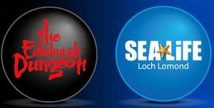 Scottish sun collect 4 out of 10 code words and get 2 tickets for the edinburgh dungeon/ sealife centre Loch Lomond