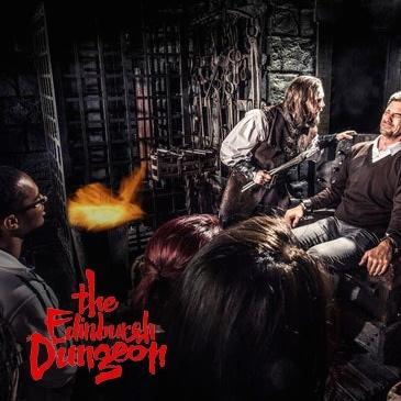 Scottish sun collect 4 code words get 2 tickets for the edinburgh dungeon/ sealife centre Loch Lomond. Cannibal darkness skeleton dungeons