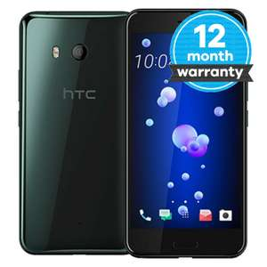 HTC U11 - 64GB - Black (EE) Smartphone - graded good - EE just over £100! - £103.97 at musicmagpie eBay