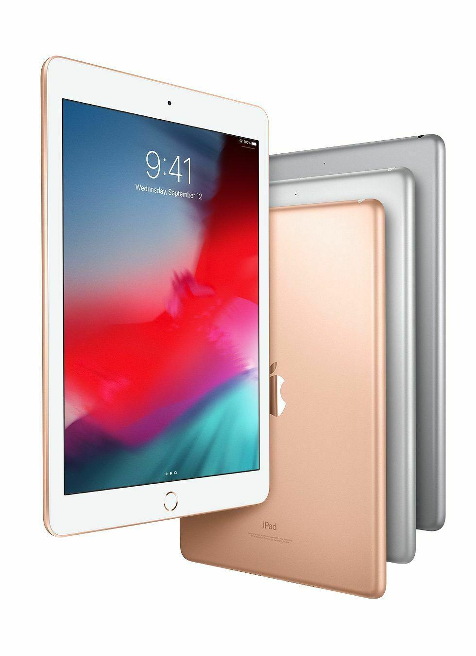 "Apple iPad 6th Generation 2018 9.7"" 32GB  Wi-Fi - £211.19 with code @ Hitechelectronicsuk eBay"