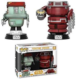 Funko Pop Star Wars fighting droids £12.99 Sold by Collectors Kingdom and Fulfilled by Amazon (+£4.49 NP)