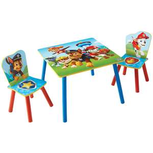 Paw Patrol Kids Table and 2 Chair Set by HelloHome Everest Chase Marshall Skye Rocky @ Amazon Warehouse Used Very Good £21.35 Delivered