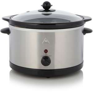 3L Slow Cooker - Stainless Steel £10 at Asda free C&C