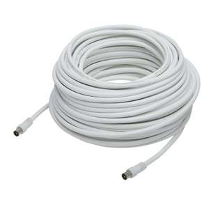 100ft /30. 5m Coaxial Aerial Lead White - £2 @ Asda Instore (Llanelli)