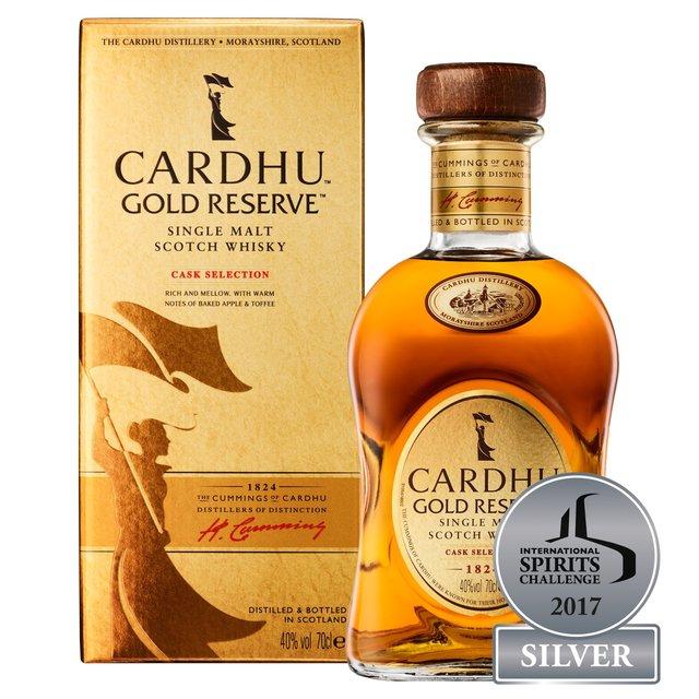 Cardhu Gold Reserve Single Malt Scotch Whisky, 70 cl £25 @ Ocado