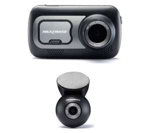 Nextbase 522GW Dash Cam In-Car Series 2 1440p Ultra HD WiFi GPS Bluetooth Alexa (Front & Rear_  £131.16 @  velocityelectronics  Ebay