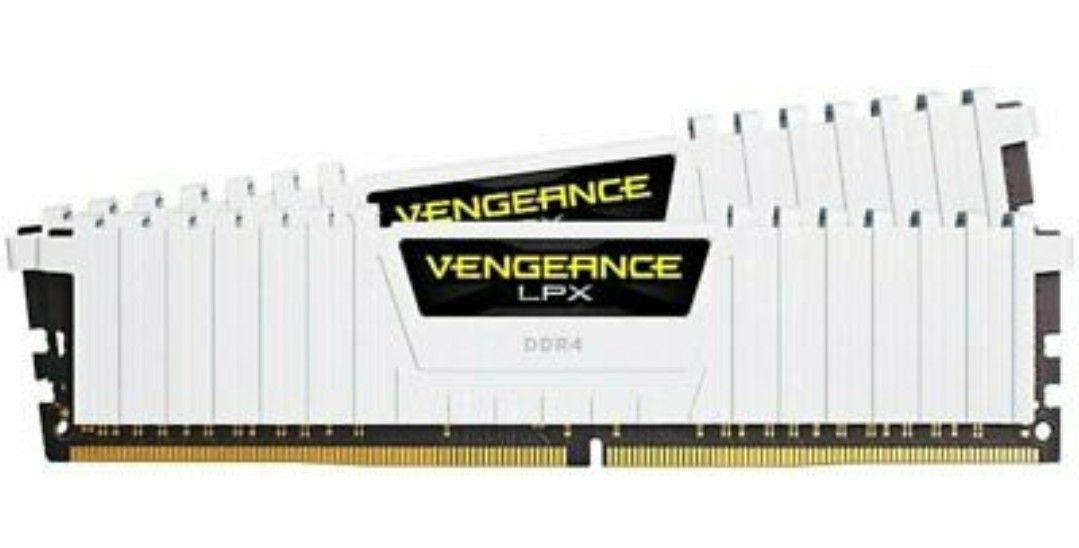 CORSAIR VENGEANCE LPX 16GB (2x8GB) DDR4 3000 MHz - White £61.72 @ Ebay/Ebuyer (With Code)
