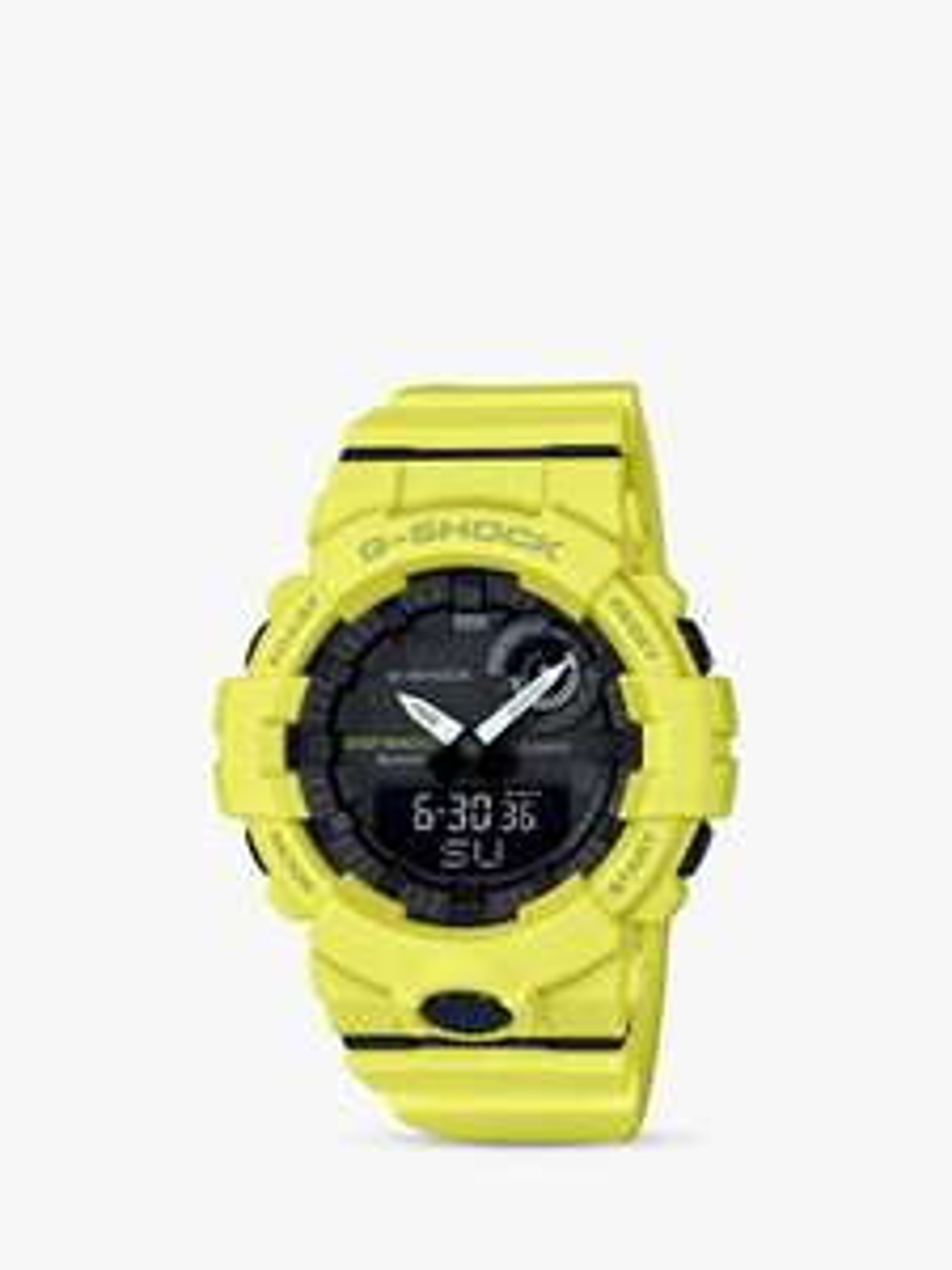 Casio Men's G-Shock Step Tracker Bluetooth Resin Strap Watch, Yellow/Black GBA-800-9AER £59.50 @ John Lewis & Partners
