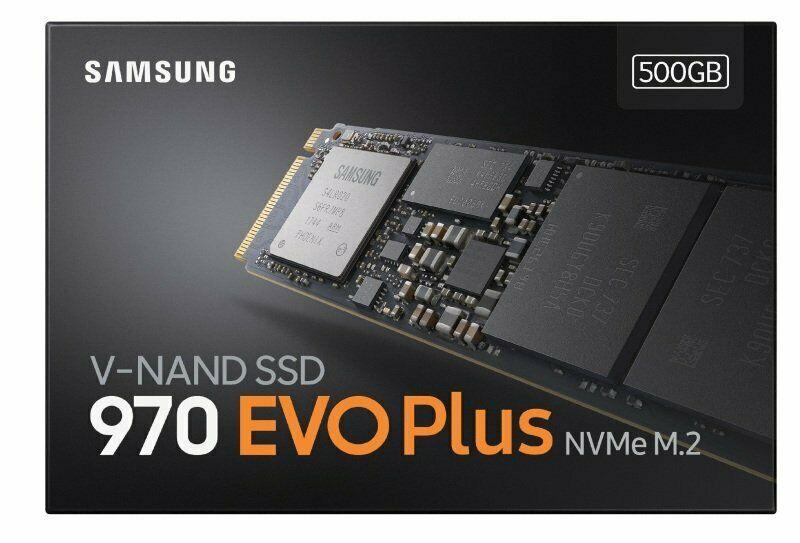 Samsung 970 EVO Plus V-NAND M.2 500GB SSD - £92.27 (With Code) @ eBay / Ebuyer