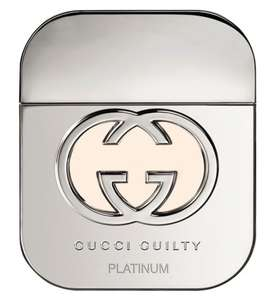 Gucci Guilty Eau de Toilette Platinum Edition For Her 50ml - £27.50 @ Boots (Free C&C) with free Gucci Guilty Pouch