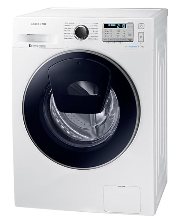 SAMSUNG WW80K5413UW 8KG 1400RPM AddWash™ Washing Machine £324 with code @ Crampton&Moore ebay