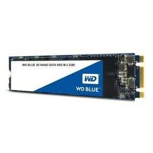 WD Blue 500GB 3D NAND SSD M.2 2280  read speeds up to 560MB/s, Write up to 530MB/s for £48.61 Delivered With Code @ Ebay/Ebuyer