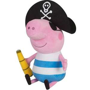 George Pirate Plush (25cm) - Peppa's Brother £16.50 @ Coolshop
