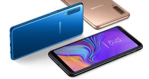 Samsung Galaxy A7 (2018) Like New Refurb - 6in AMOLED Screen, Triple Lens Rear Camera, 4GB/64GB Memory £151.91 - eBay / cheapest_electrical